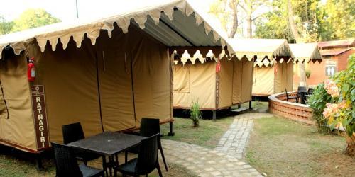 Deluxe Dormitory Tents (Songiri, Udaigiri, Ratnagiri)